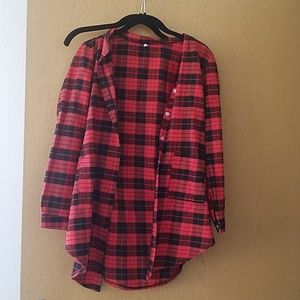 Tops - Plaid shirt